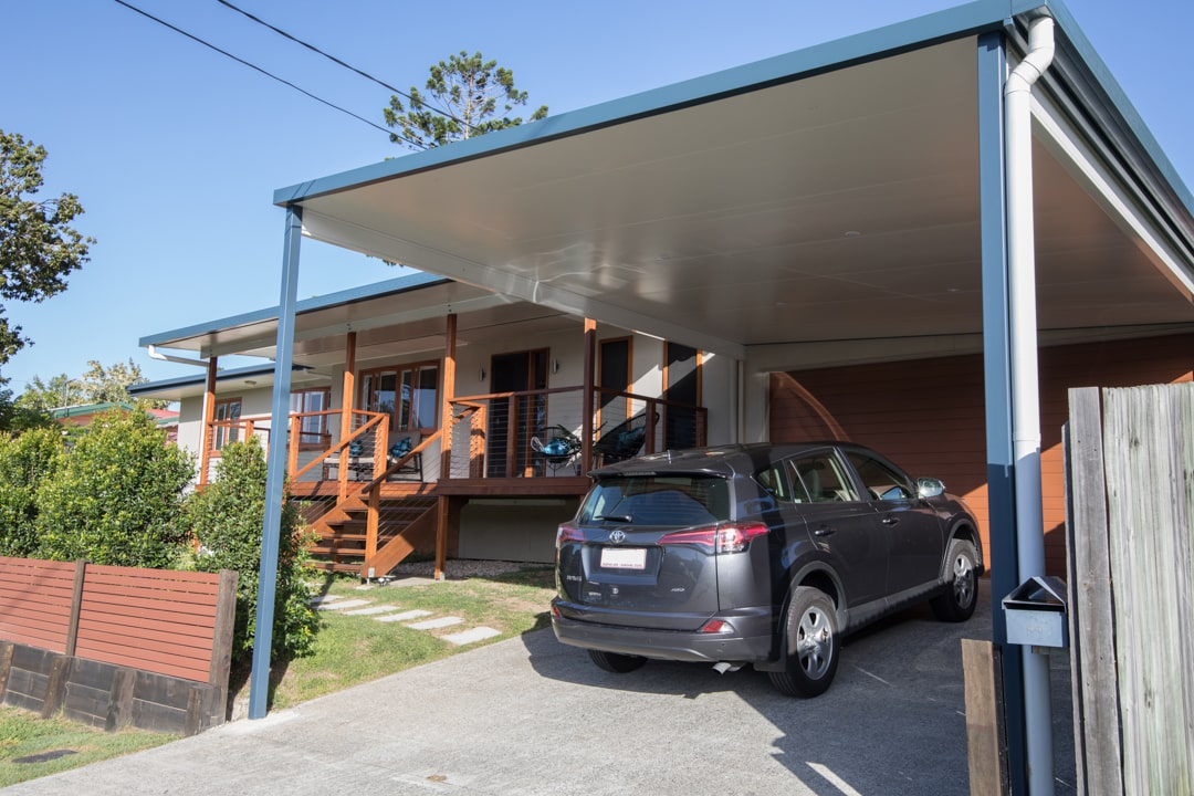 How can a carport help me this summer - A carport will protect your car from the elements, Australian Outdoor Living